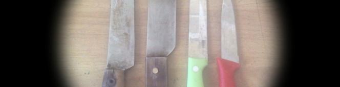 Material Rongsokan jadi Pedang BernilaiTinggi